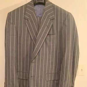 Custom Men's Oxxford Suit (40R)